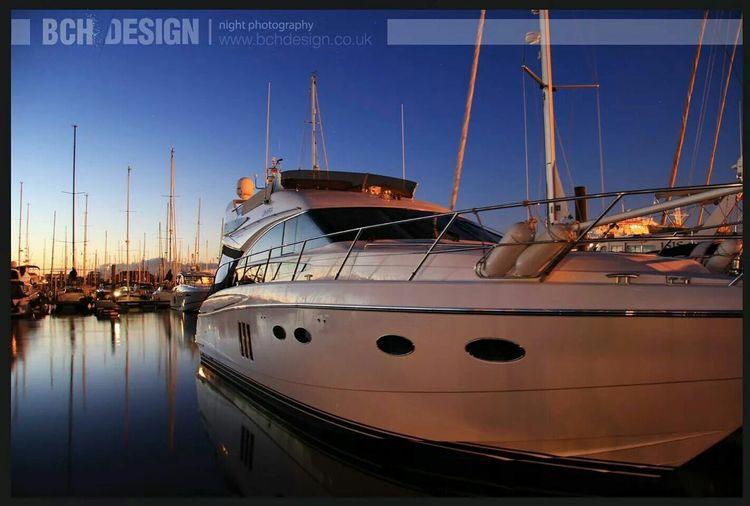 Nightphotography Boats⛵️ Bchdesign