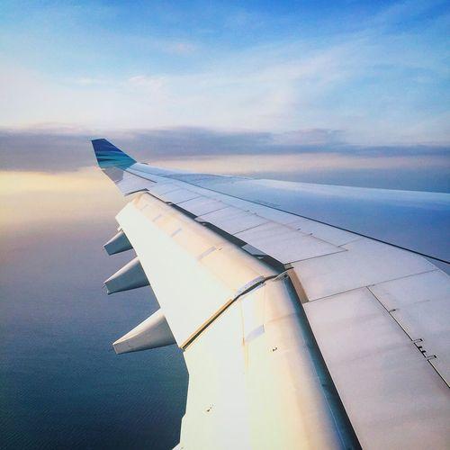 Landed in Bali,