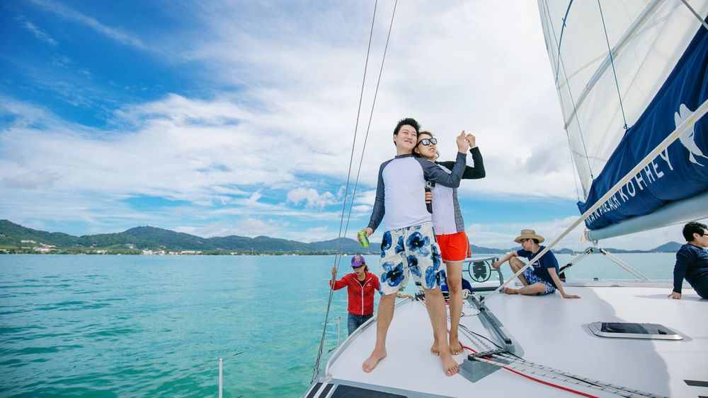 Love Together : Canon eos6D Honneymoon Bananabeach Phuket,Thailand Coralisland Yatch Marine Yatchclub Teamhaku