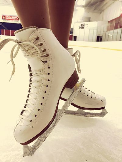 Ice-skating Bestfriend Moylan Iceplex Figure Skating Summer Fun Close-up Shoe Ice Rink