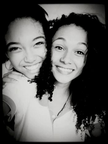 Bestfriend Black And White Smile :)