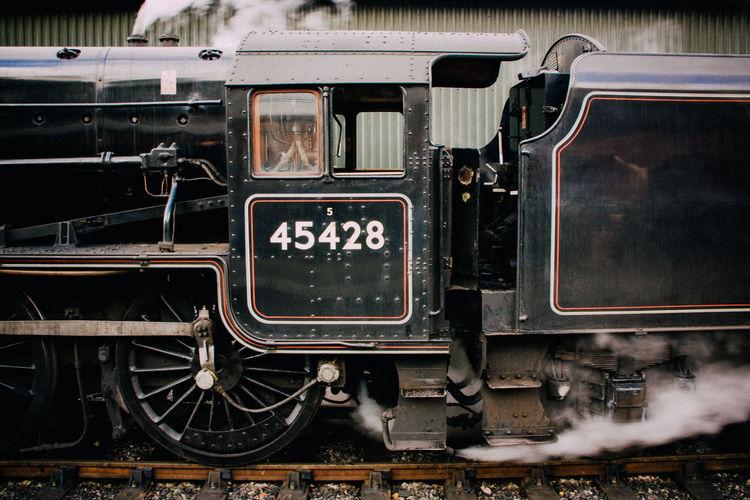 Mode Of Transport Old-fashioned Passenger Train Public Transport Public Transportation Rail Transportation Railroad Station Railroad Station Platform Railroad Track Steam Train Train - Vehicle Transportation Travel Yorkshire Yorkshire Dales Yorkshire Rail