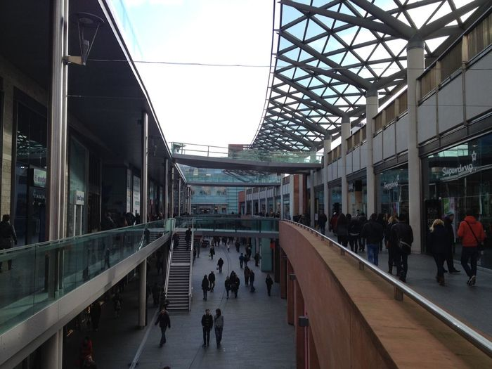 Bricks Buildings Architecture City Life Glass - Material Offices Public Spaces Shoppingmalls