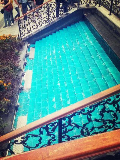 Water Istanbul Turkey Stairs Beaatiful