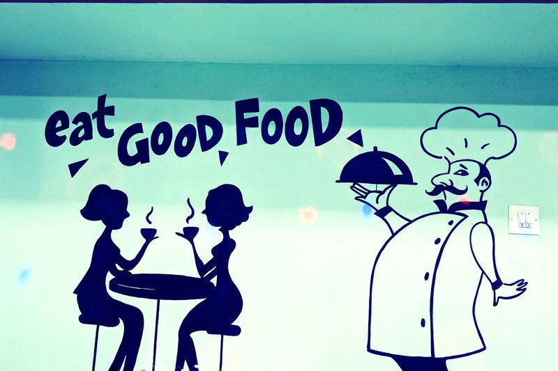 Wall Art... LGV30photography Wall Art Foodquotes Restraunt Eating Good Silhouette EyeEmNewHere