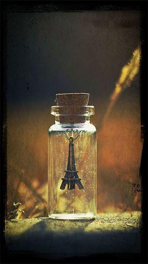 Paris in a bottle how convenient ;) Photo