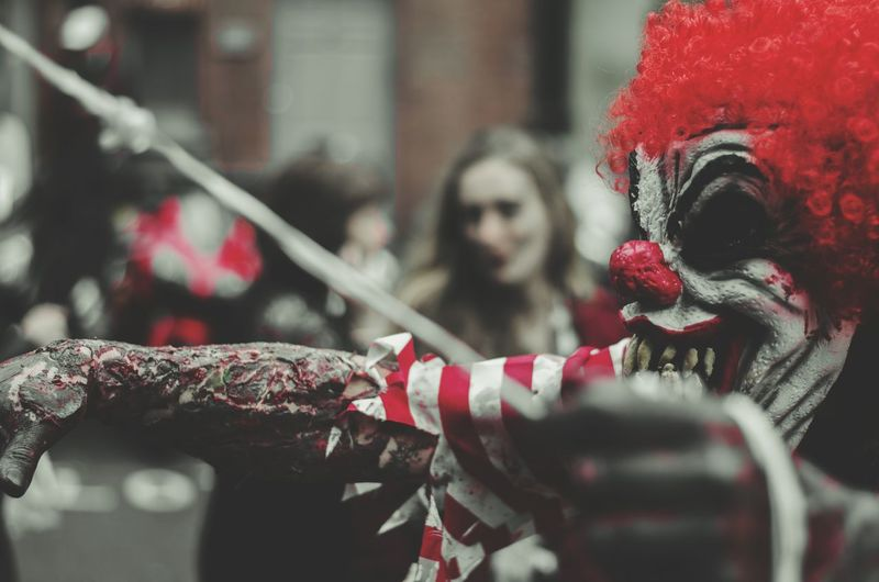 Bring in the Clowns..... Zombie Walk 2015 Zombie Walk London Alucyart Zombies  Nikonphotography Nikon D5100  50mm F1.8