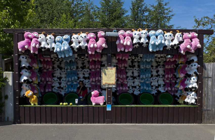 A market stall selling soft toys on 2nd of July 2018 in London, United Kingdom. (photo by Lorenzo Grifantin) Peluche Business England Market Stall Store Teddy Bear
