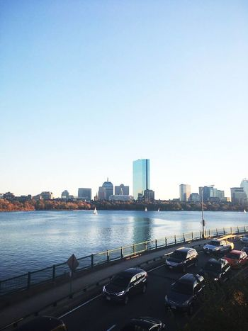 Architecture Boston, Massachusetts Building Exterior Built Structure City City Life Cityscape Clear Sky Day Mode Of Transport Modern Nature Nautical Vessel No People Outdoors River Sky Skyline Skyscraper Transportation Travel Destinations Urban Skyline Water