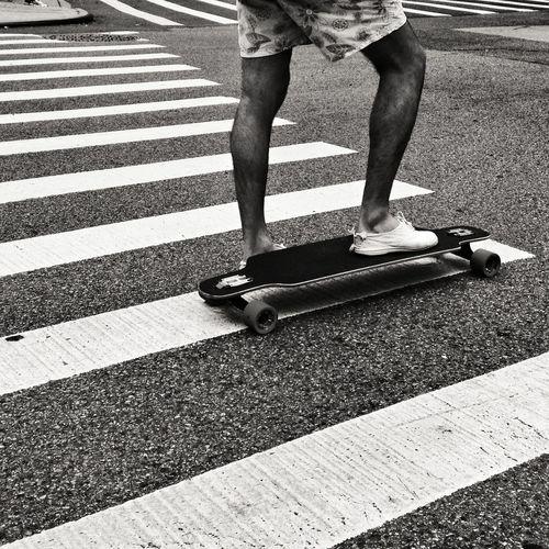 Skateboarding Lines Streetphotography Blackandwhite