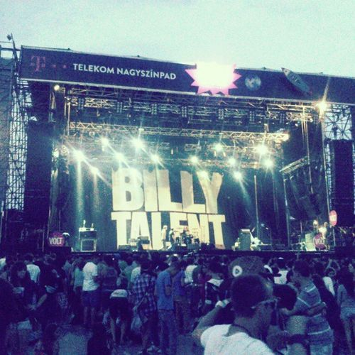 Billy Fucking Talent Billytalent Voltfestival