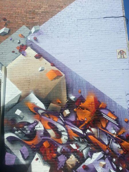 Graffiti Streetart Wildstyle Does