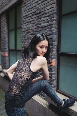 BABYGHOST Streetphotography Eyephotography Sweet Girl Portrait Taking Photos 35mm Nikon Shanghai Cool