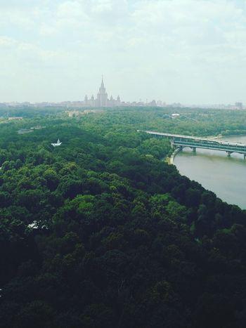 Hidden Gems  Moscow Msu Soviet Architecture Architecture Skyline Green Urban Forest