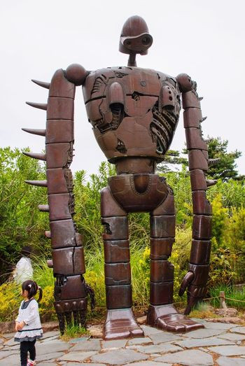 Ghibli Studio Ghibli Ghiblimuseum Ghibli Museum GHIBULI MUSEUM, MITAKA LAPUTA ROBOT GUARDIAN I went to the GHIBRLI MUSEUM MITAKA with my family on April 2011. I could have a so fun time like a child.