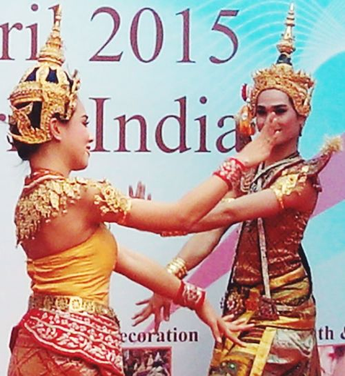 Beautiful Art Culture Tradition Dance&music Thailand In India!