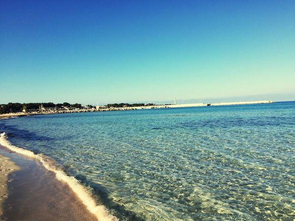 Sicily Beach Ocean Sun