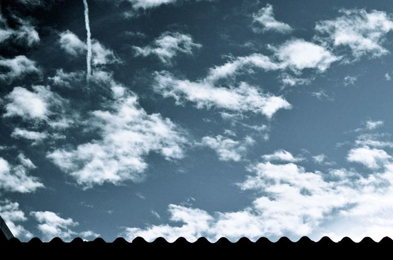 Blue Sky Clouds Clouds And Sky Plane Plane Cloud Roof White Clouds Winter Air