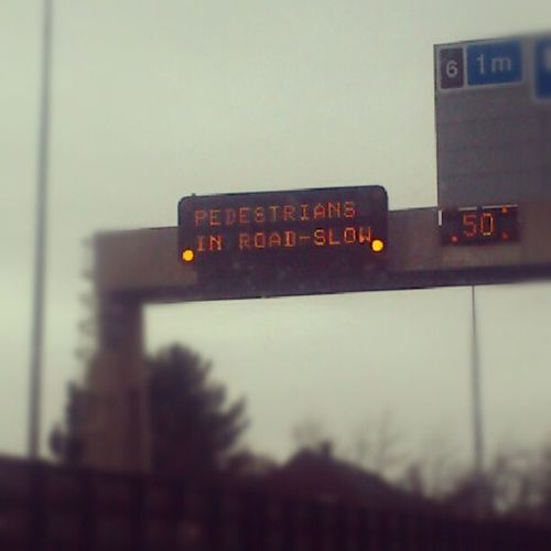 Really?! Like Hansolo in Carbonite ? Seriously though!!! M60 Motorway commonsense safety crazy