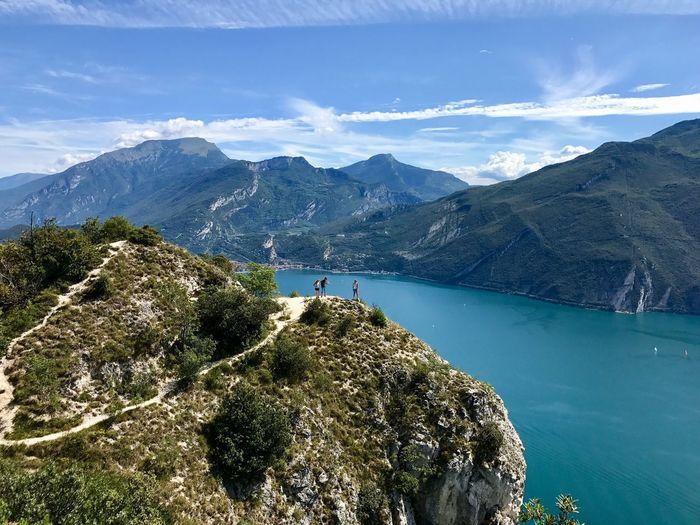 EyeEm Selects Water Mountain Beauty In Nature Scenics - Nature Sky Sea Outdoors Leisure Activity Mountain Range