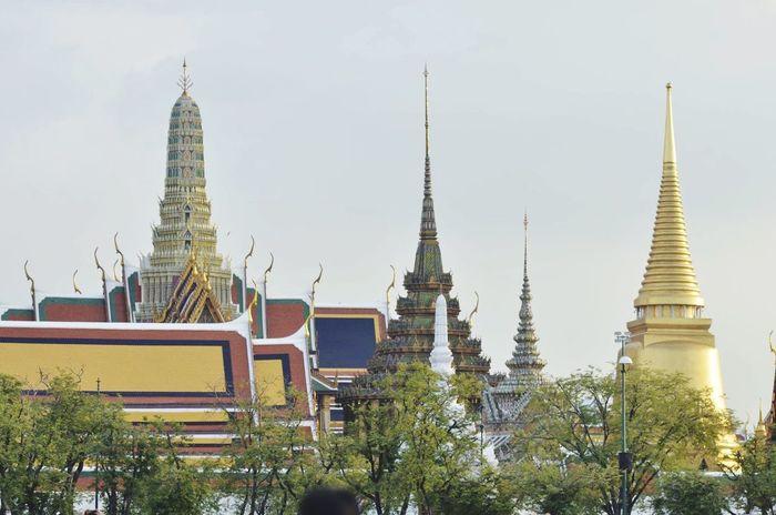 Wat Phra Kaew Thailand Bangkok Bangkok Thailand.