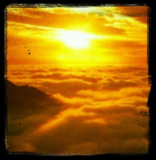 Skie View flying back to Cali March 2011 Sunset Skies TBT  Bird's View