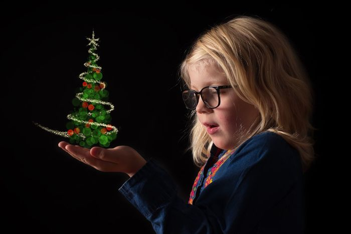 I wish you a Merry Christmas and that your dreams come true! PENTAX K-1 Spell Magic Glasses Composition Low Key Photography Low Key Studio Lighting Studio Light Portrait Studio Studio Shot Exceptional Photographs Lessismore Dreams Come True Dreams Drawing Merry Christmas Christmas Christmas Tree Christmas Decoration Holiday - Event Christmas Ornament