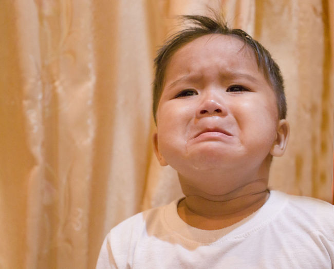 Boy is crying Cry Crying One Person Dolorous Mournful Boy