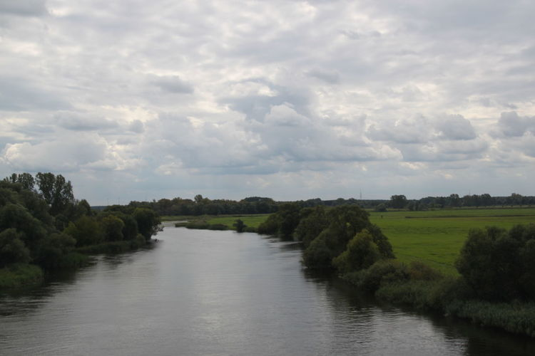 Havel River Havelland Germany Beauty In Nature Cloud - Sky Day Environment Green Color Growth Havel Havelradweg Landscape Nature No People Non-urban Scene Outdoors Plant River Scenics - Nature Sky Tranquil Scene Tranquility Tree Water Waterfront