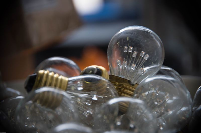 Light bulbs Equipment Lightning Close-up Light Bulb No People Indoors  Large Group Of Objects Filament Day