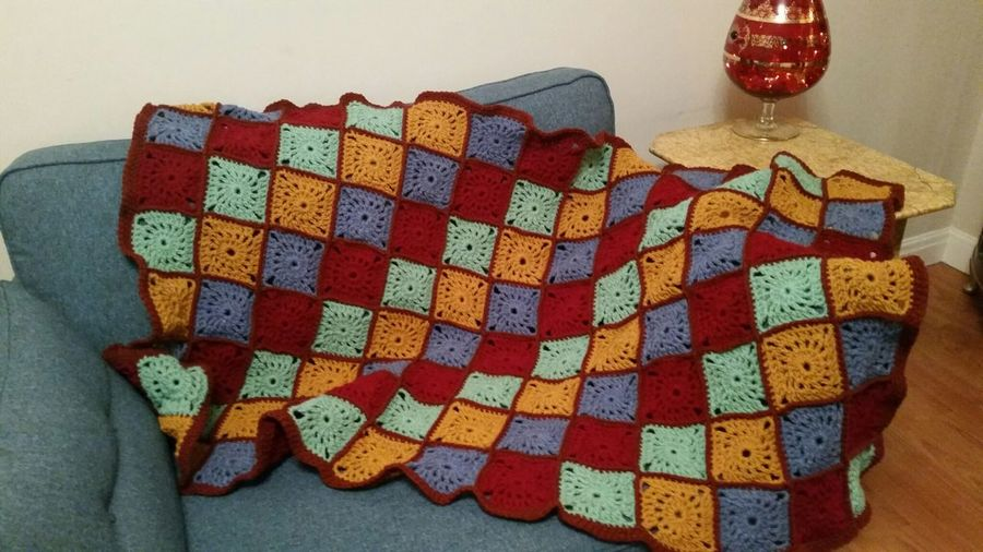 Crochet Craft Myhobby Woolcraft Afghanthrow Wool Knitting Colourful Pattern Squares Samsung Galaxy S6 Getty Images 43 Golden Moments
