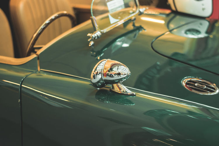 Close-Up Of Old-Fashioned Car