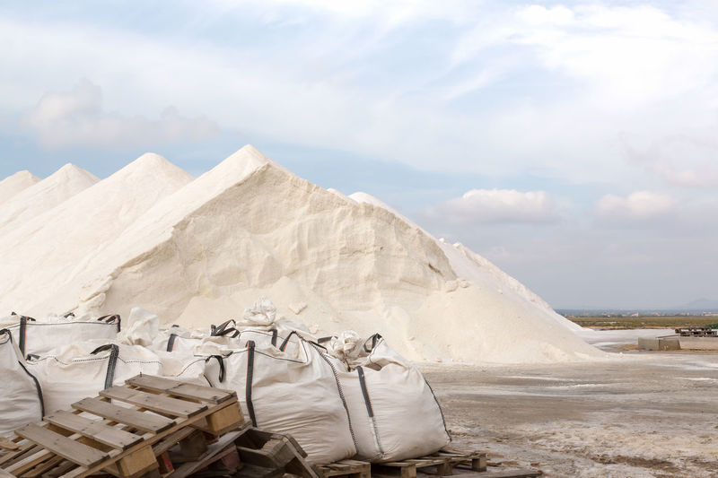 Heap Of Salt In Majorca