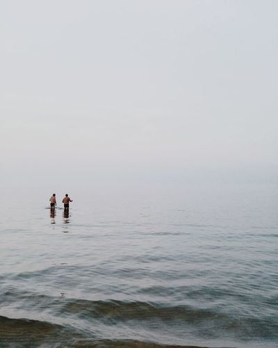 🌊👤🌊︱floating in whitespace Sea Water Outdoors Horizon Over Water Minimal Minimalism Minimalist VSCO Cam VSCO First Eyeem Photo Beauty In Nature EyeEm Best Shots Scenics Minimalist Photography  Travel Destinations EyeEm On The Week EyeEm Of The Week EyeEmNewHere EyeEm Selects The Week On EyeEm Beach Nature Fog Minimalist Photography  Ocean Lost In The Landscape Connected By Travel