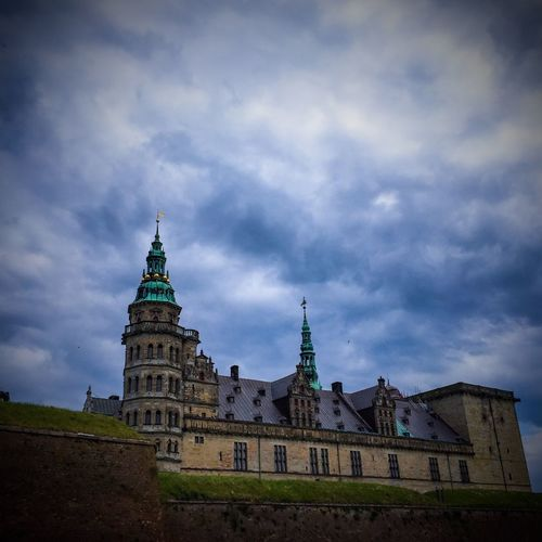 Kronborg Castle, Hamlet, Shakespeare, Denmark, earlier today..... Edited on iPhone... Copyright By Ditte Broens/Ditte Brøns