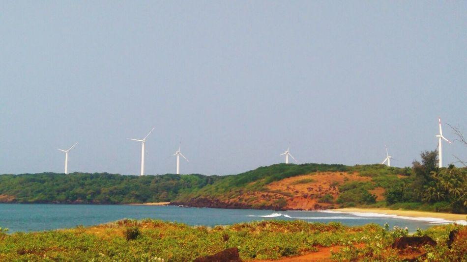 Devgad Alternative Energy Landscape Cloud - Sky Let's Go. Together.