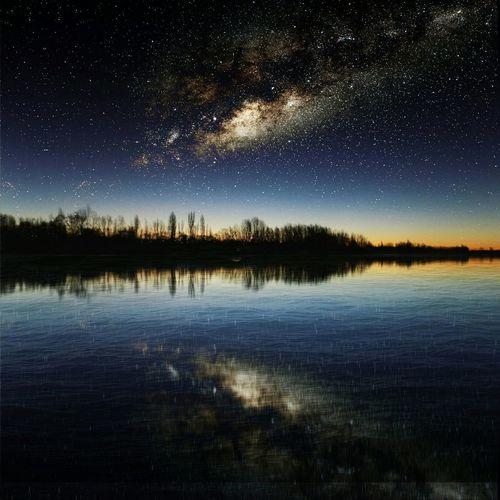 Hello World Hi! Landscape Enjoying Life Rio River Vialactea Choele Night Estrellas Enjoying Life