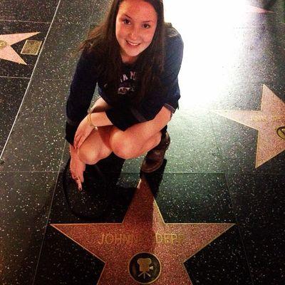 Johnny Depp 😍 La Hollywood Walkoffame DolbyTheatre Oscars Herewego Johnnydepp Iloveyou