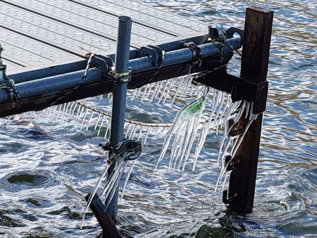 icicles EyeEm Selects Water Wood - Material Sea Nautical Vessel Fishing Fishing Net No People