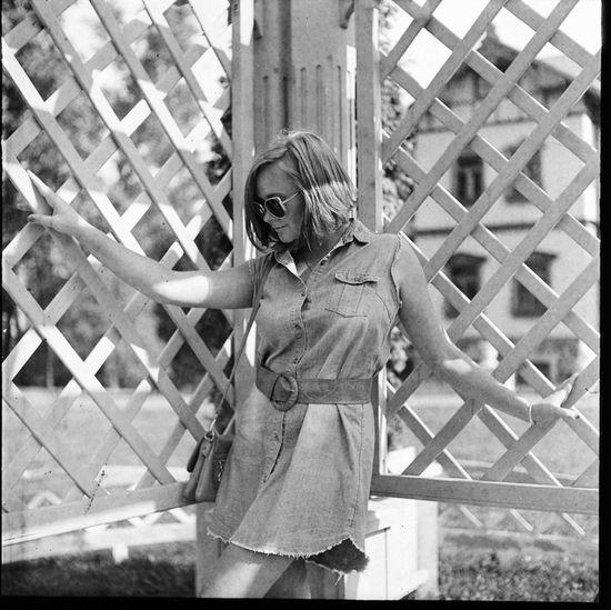 Beauty Black & White Bw Film Film Photography Portrait Portrait Of A Woman Yashica