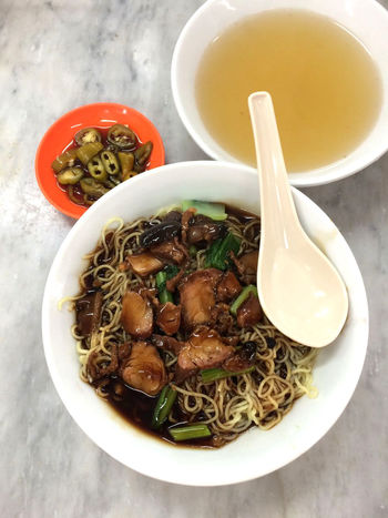 Appetizer Asian Food Bowl Cooked Directly Above Food Food And Drink Food Styling Freshness Hawker Food Indulgence Main Course Meal Penang Food Plate Ready-to-eat Serving Size Soup Temptation Vegetable Vegetarian Food Wan Ton Mee