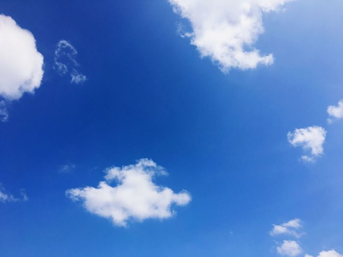 Cloud - Sky Sky Blue Nature Beauty In Nature Low Angle View Sky Only Cloudscape Day Scenics No People Tranquility Outdoors Backgrounds