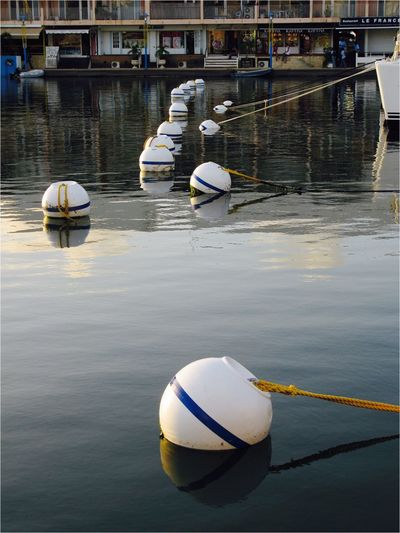 Water Nautical Vessel Transportation Moored Mode Of Transport Day Buoy Reflection Outdoors Lake Harbor Nature No People