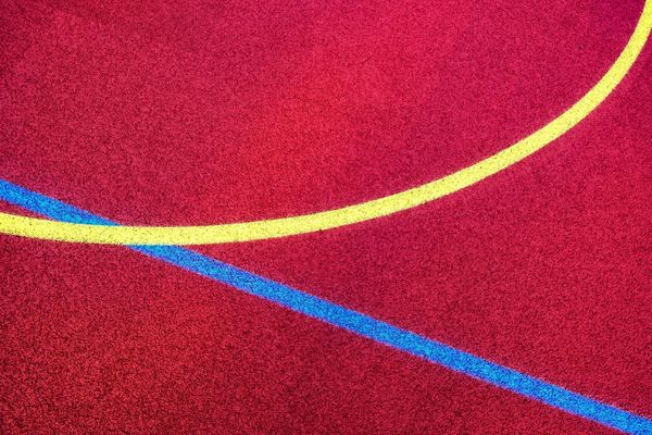The Devil's In The Detail Urban Perspectives No People Multi Colored Sport Backgrounds Red Running Track Full Frame Textured  Track And Field Stadium Pattern LINE Marking