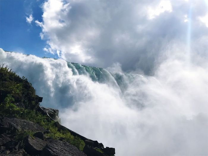 Scenic View Of Niagara Falls