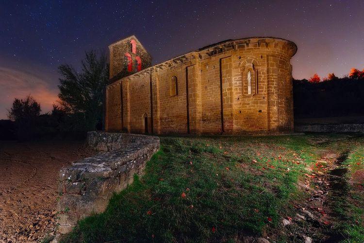 Ermita Night Architecture History Outdoors Star - Space No People Medieval Religion church Iglesia EyeEmNewHere