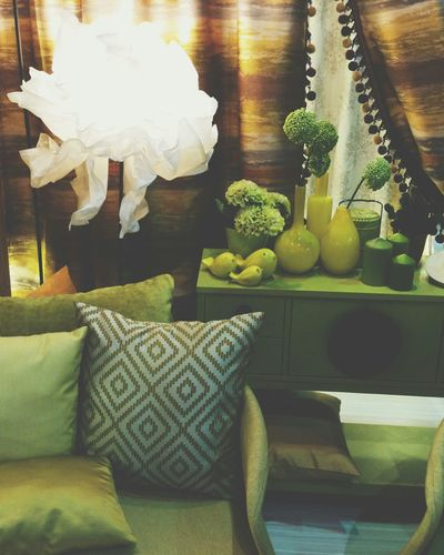 Lemon Lime By Motorola exhibition booth Vscocam Architect15 Bangkok Living Room Armchair Flower Vase