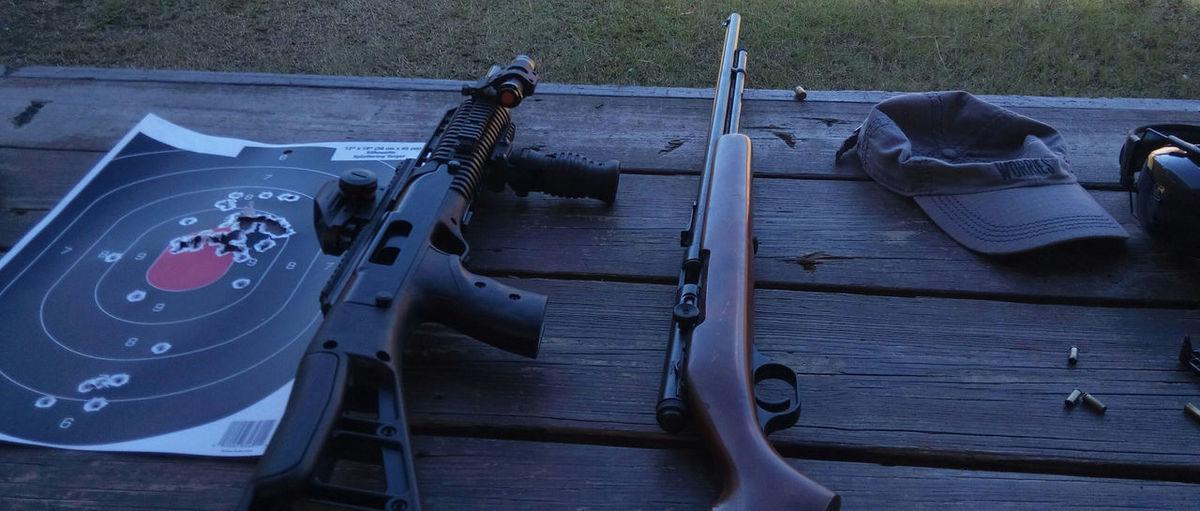 Range Instructors Desk Desks From Above Equipment Firearms Gun Gun Range Hobbies Leisure Activity Occupation Target Weapon