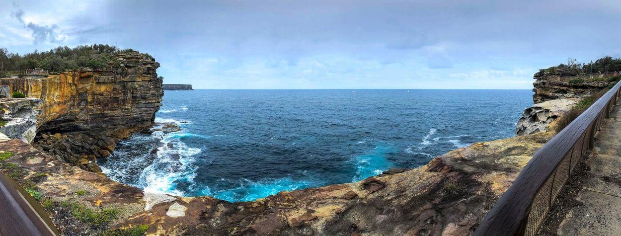 The Ocean #ocean Sky Tranquil Scene first eyeem photo
