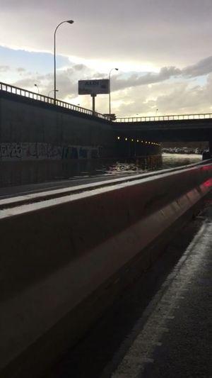 M-40 La Fortuna Madrid Inundacion Inundaciones Lluvia Lluvias